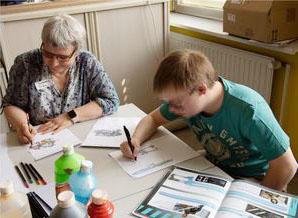 Musicus e.V - Articus bietet Kunstförderung für Menschen mit Behinderung.