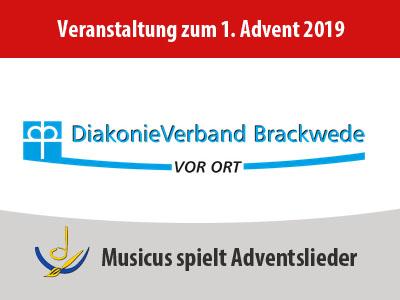 Veranstaltung Fensterstimmem Diakonie Brackwede am 1.Advent 2019